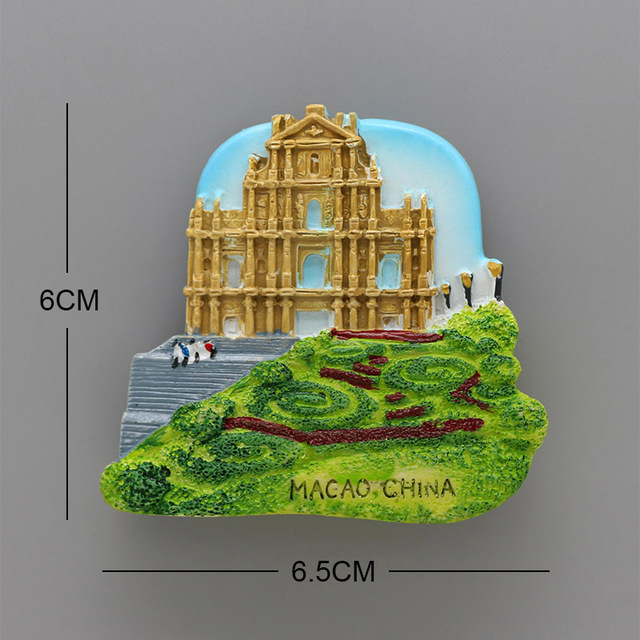 Lucerne lion Macao Italy Venice New Zealand 3D magnetic refrigerator sticker Souvenirs home decoration Budapest Hungary Cambodia 5
