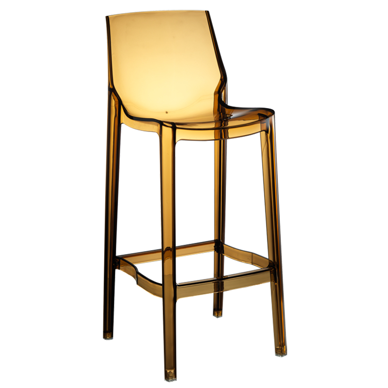 Transparent Bar Stools Nordic High  Acrylic      Chairs
