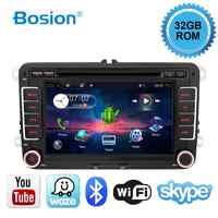 Car Multimedia player 2 Din Android 10.0 GPS Per Il VW/Golf/Tiguan/Skoda/Fabia/Rapid/Seat/Leon/Skoda dvd automotivo FM canbus libero