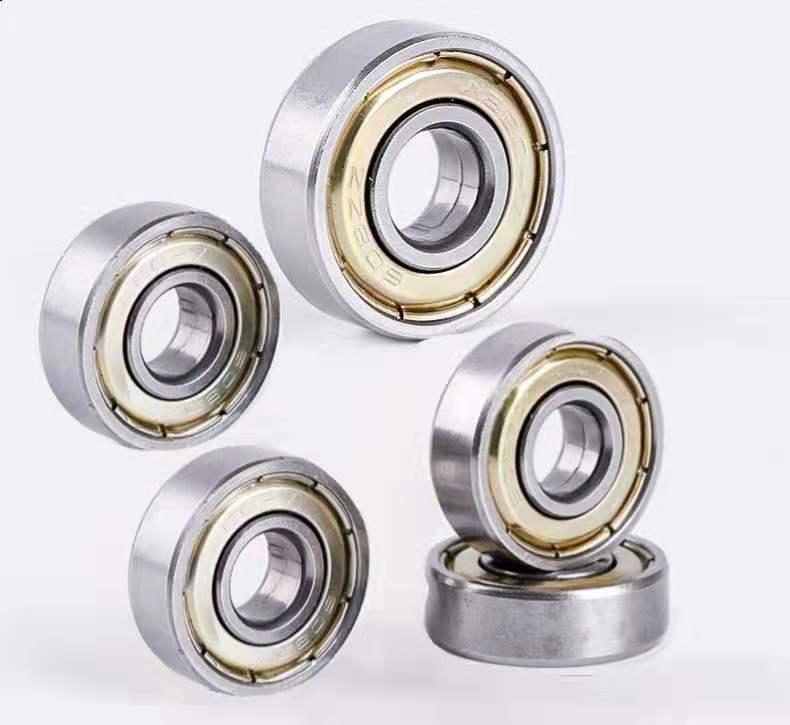 10PCS  Ball Bearing 608zz 623zz 624zz 625zz 635zz 626zz 688zz 3D Printers Parts Deep Groove Flanged Pulley Wheel