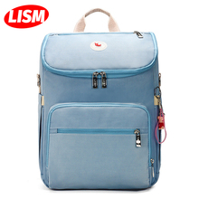 Large Capacity Bag Multi-function Backpack Bag Waterproof Outdoor Travel Diaper Bags For Baby Care Versatile Bag For Girl School недорого