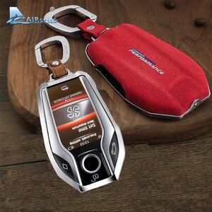 Image 4 - Capa para chave de carro de airspeed, cobertura para chave em carro para bmw f22 f30 f36 f10 f13 f01 f25 f26 f15 f16 f48 acessórios f39, g30, g11, g05, g01, g02