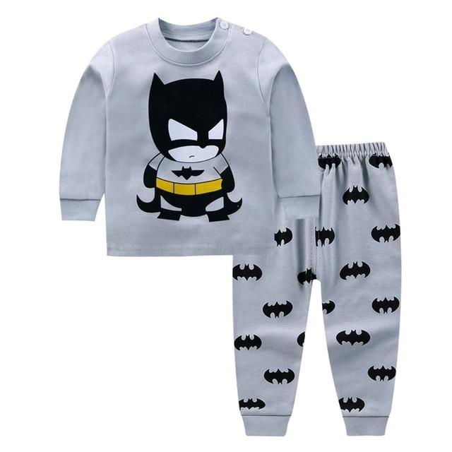 0-24M Baby Clothing Sets Autumn Baby boys Clothes Infant Cotton Girls Clothes 2pcs newborn baby Underwear Kids Clothes Set 1