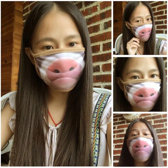 1/5/10Pcs Cartoon Cotton Dust-proof Breathable Anti Haze Protective Face Mask Anti flu Anti Virus Mask 1