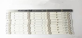 10-20pcs new and hi quality for backlight Original for Lehua 49AX3000 Light Bar JS-D-JP4910-041EC(60517) 470.0*17.0*1.0T 47cm
