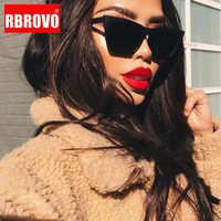 RBROVO 2019 plastique Vintage luxe lunettes De soleil femmes couleur bonbon lentille lunettes classique rétro extérieur voyage Lentes De Sol Mujer