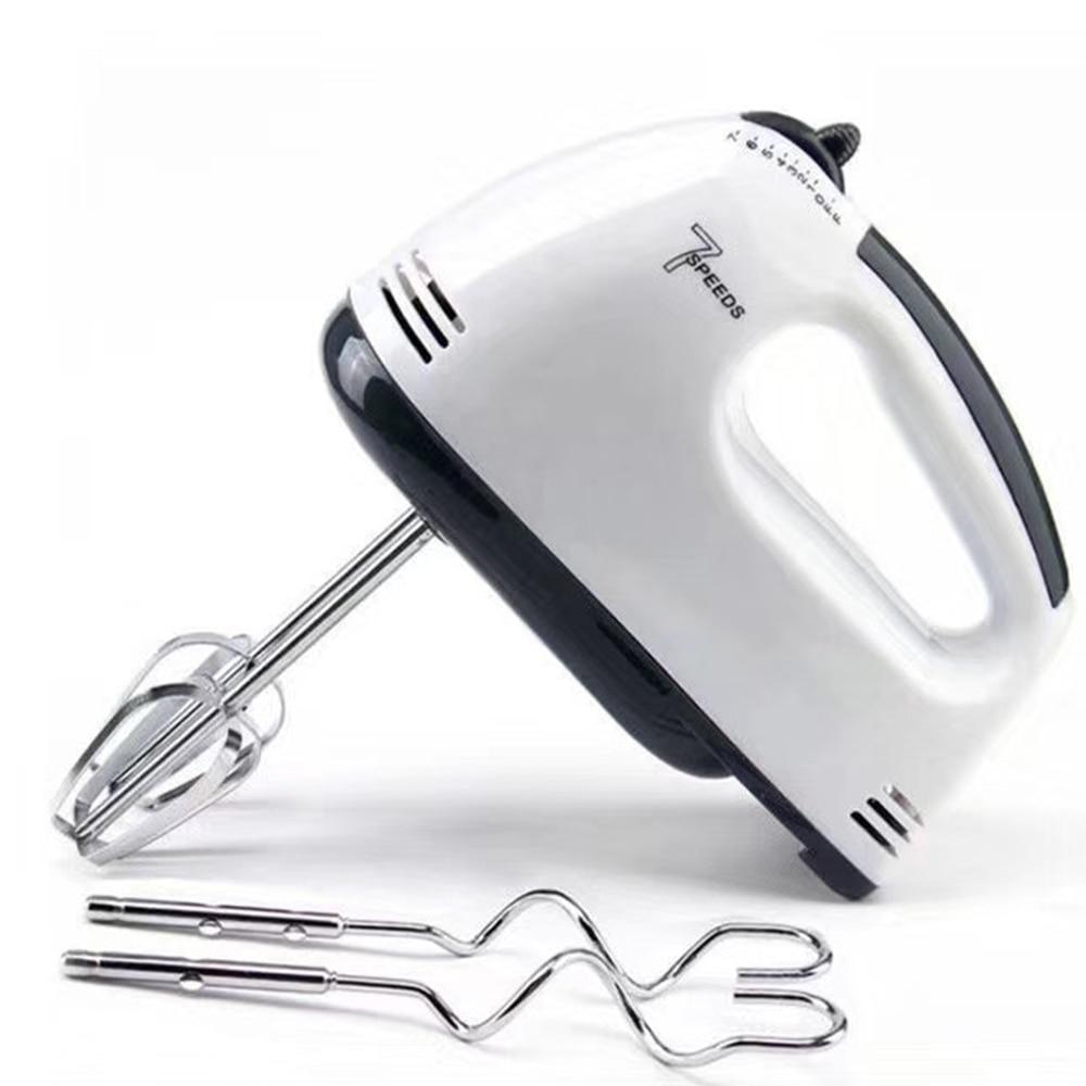 Многофункциональный мини 7 Скорость Электрический Ручной смеситель яйцо колотушки Автоматическая кремом Еда торт миксер теста для выпечки...