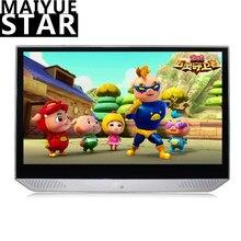 مسند رأس Maiyue star مقاس 13.3 بوصة 2 جيجابايت + 32 جيجابايت يعمل بنظام الأندرويد 9.0car شاشة لمس عالية الوضوح 4K بتقنية WIFI/بلوتوث/USB/SD/HDMI/FM/النسخ المتطابق