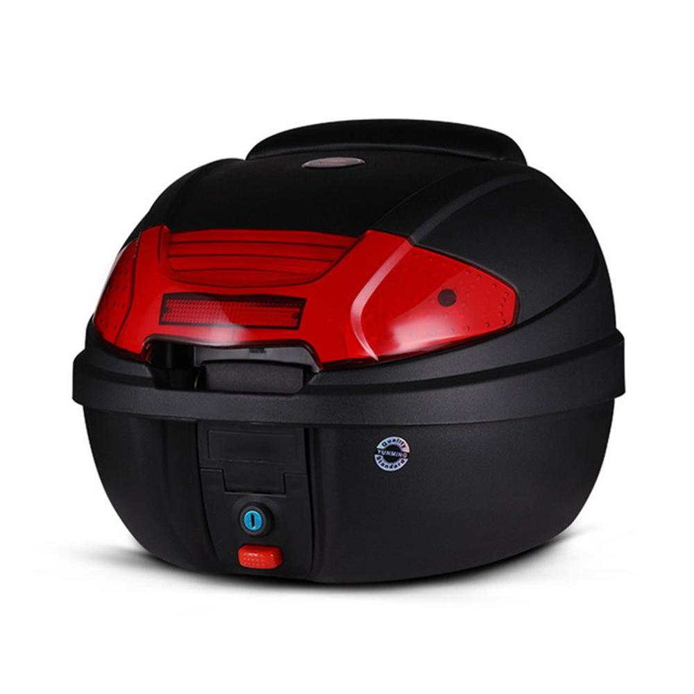 0830 Electric Car Tail Box 125 Motorcycle Trunk Universal Quick Release Battery Car Toolbox Detachable Professional