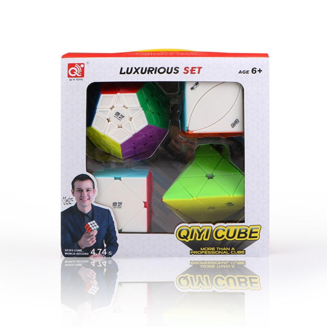 2019 Новое поступление Qiyi Alien волшебный куб набор головоломки игрушки для обучения мозгу Тип 5