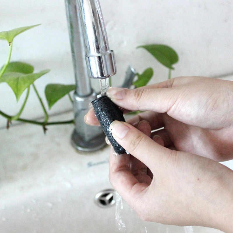 Calda 2pcs Nuovo strumento di cura Del Piede Teste Pedi Dura di Rimozione Della Pelle Ricariche di Ricambio Rulli Per Scholls Piedi di File di cura di strumento