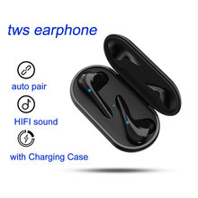 Wireless Earbuds Bluetooth 5.0 Headphones in Ear Hands-Free Headset with Noise Cancellation Mic Touch Control for iPhone Android bluetooth 4 1 wireless headphones handsfree earphones with mic hands free voice control in car for iphone samsung huawei xiaomi