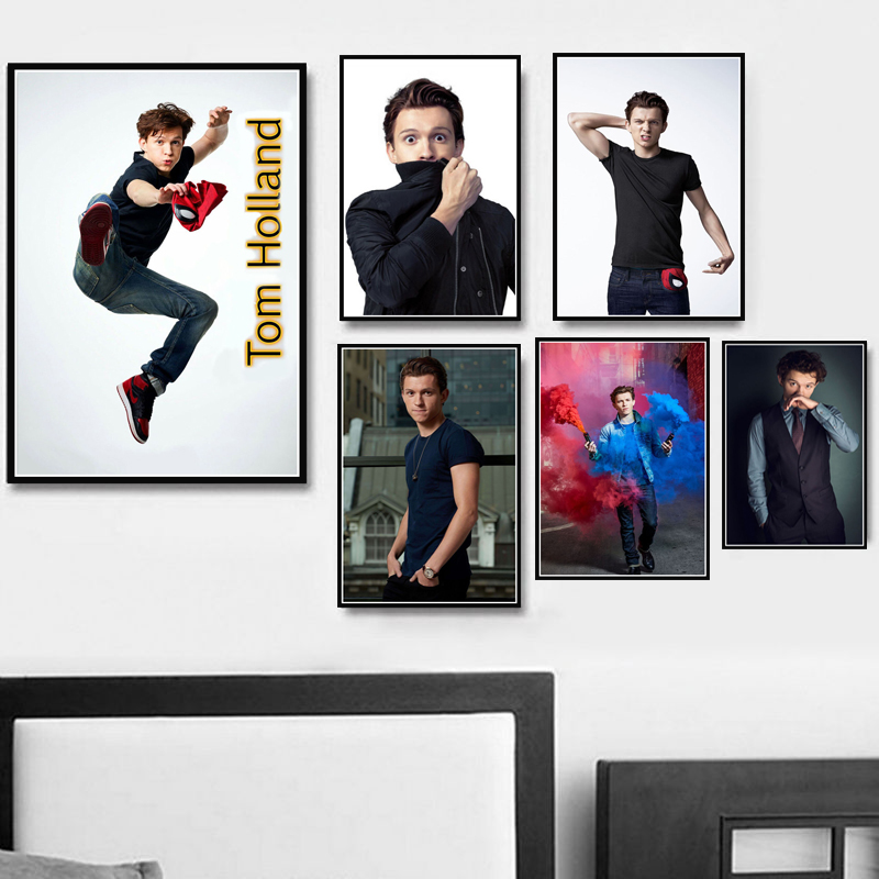 N-980 New Spider Man Homecoming 2017 Marvel Movie Tom Holland Fabric POSTER 36