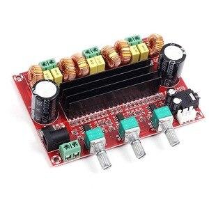 Image 5 - 2.1 Channel Subwoofer Audio Versterker Board 100W + 2*80W TPA3116D2 Power Digitale Stereo Amp Hifi DC12 24V