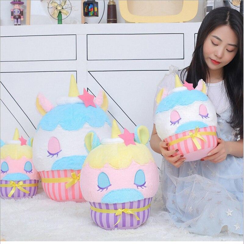 Креативная фантазия торт Подушка единорог плюшевые игрушки домашняя, диванная подушка съемки реквизит