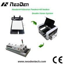 Mała maszyna do wybierania i układania SMT z NeoDen4, drukarka szablonowa i piec przepływowy