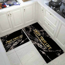 SunnyRain 1-Piece Kitchen Rugs Area Rug and Carpets for Kitchen Bathroom Rugs Slip Resistant Bathroom Rugs goodgrain large area rug for kitchen bathroom
