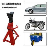 Jack suporte 3 toneladas grosso reparação automóvel suporte de segurança ferramentas de reparo do carro tamborete cavalo carro ferramentas de reparo de elevação da roda