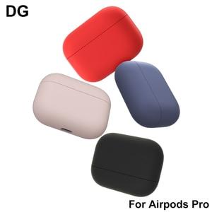 Image 2 - Ốp Lưng Dẻo Silicone Cho Tai Nghe Apple AirPods Không Khí Cho Quả Trường Hợp Cho AirPods Pro Bluetooth Da Dành Cho Tai Nghe Phụ Kiện