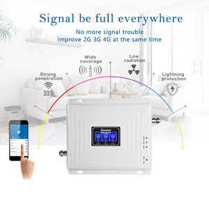 Image 5 - Lintratek Tri Band 2G 3G 4G Signal Booster GSM 900 Repeater 4G 1800 3G 2100MHz Ampli Cellphone Signal Amplifier GSM UMTS LTE
