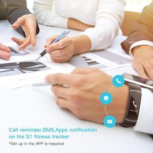 Image 5 - Lerbyee GT101 reloj inteligente hombres pulsera monitor en tiempo real ritmo cardíaco y dormir mejor pareja Fitness Tracker Rosa fit las mujeres