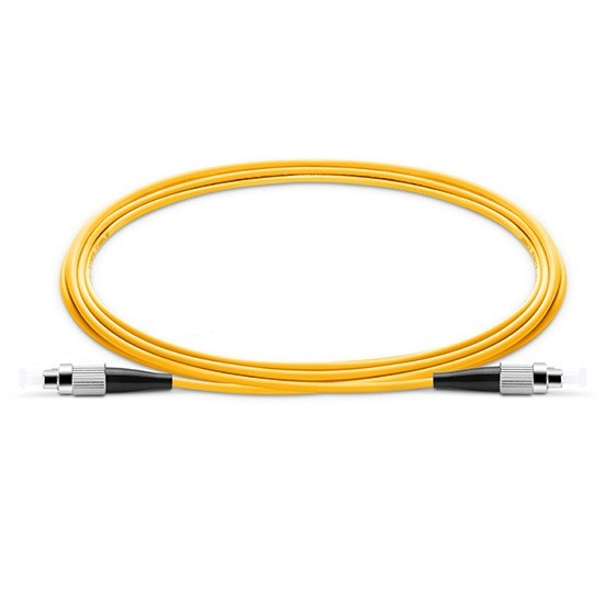 10 PCS FC UPC To FC UPC Simplex 2.0mm 3.0mm PVC Single Mode Fiber Patch Cable Fc Apc Patch Cable