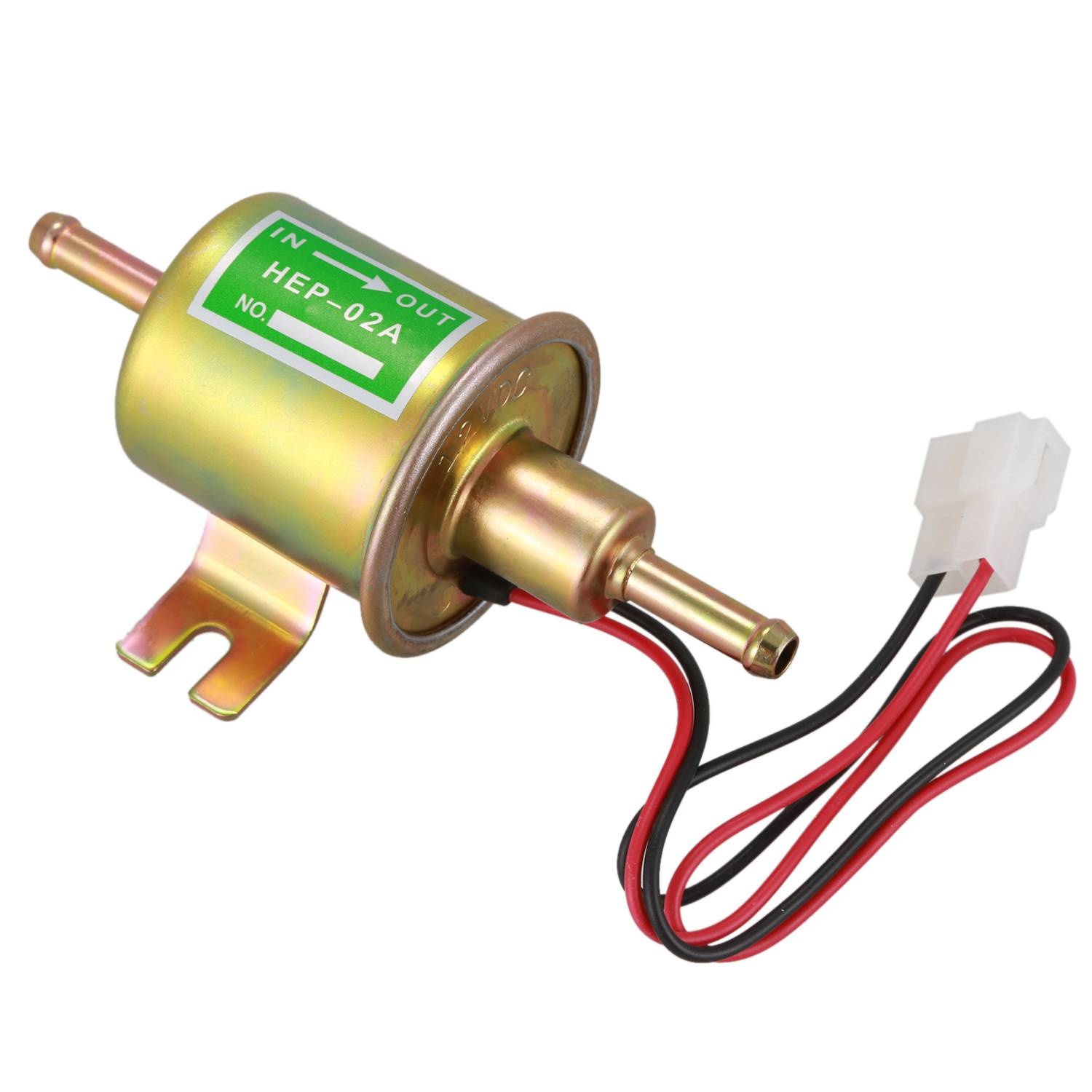 New 12V Electric Fuel Pump Inline Petrol Low Pressupe Hep-02A
