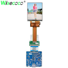 for HDM VR AR display 3.4 inch IPS 1440*1770 90Hz 60 pins LCD screen with mipi 60pins HDMI micro USB interface