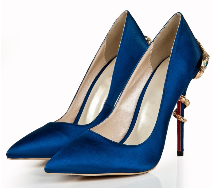 rasa apontou moda saltos altos único sapatos