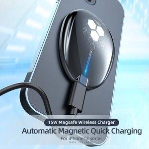 Image 2 - Essager – chargeur sans fil magnétique Qi 15W, pour iPhone 12 Pro Xs Max X, chargeur à Induction, charge rapide sans fil pour téléphone