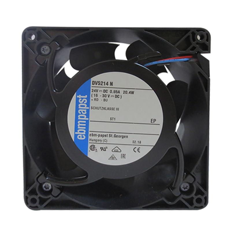 Ebmpapst DV5214N Cooling Fan, Size 127 X 127 X 38mm 24 V DC, Air Flow 270m3/h, 5000rpm