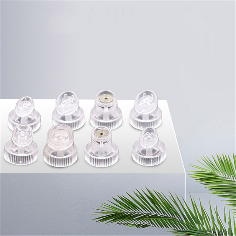 8Pcs Hydra Facial Machine Crystal Replacement Tip For Hydra Facial Water Oxygen Dermabrasion Crystal Tips For Small Bubble