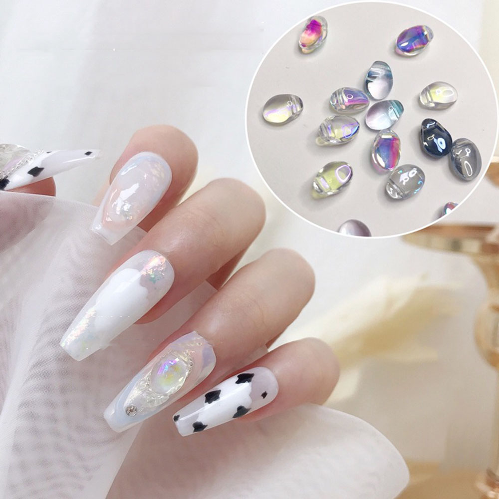 Дизайн ногтей Аврора Стразы ювелирные изделия симфония сияющие DIY Очаровательные Элегантные украшения для дизайна ногтей дизайн маникюра