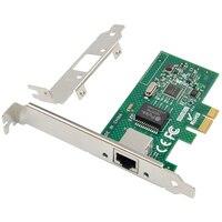 إنتل I210AT PCI-E X1 جيجابت LAN إيثرنت بطاقة الشبكة خادم سطح المكتب منفذ واحد التكيف محول خادم إيثرنت PCI-E