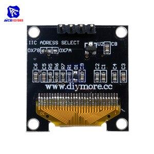 "Image 2 - Diymore 0.96 ""12864 SSD1306 OLED LCD Display Modul I2C IIC Serien mit Pin für Arduino 51 MSP430 Serie STM32/2 CSR IC"