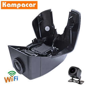 Kampacar Dashcam VLV06-D For Volvo XC90 Classic T5 R-Design T6 T8 Four Wheel Drive black roof 2015 To 2020 Y Wifi Car Dvr Camera