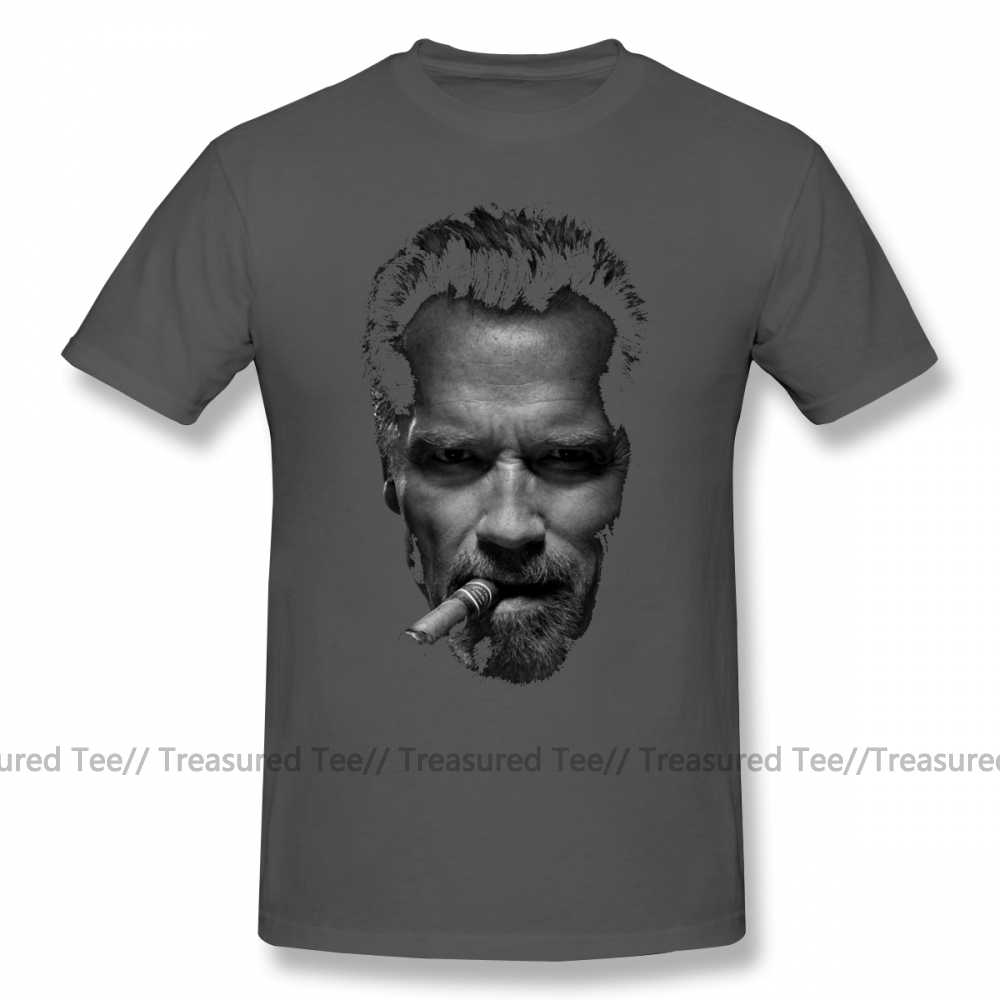 Arnold Schwarzenegger T Shirt Arnold Schwarzenegger T-shirt Klasik 100 Cotton Tee Kemeja Dicetak Pria Lengan Pendek Lucu Tshirt