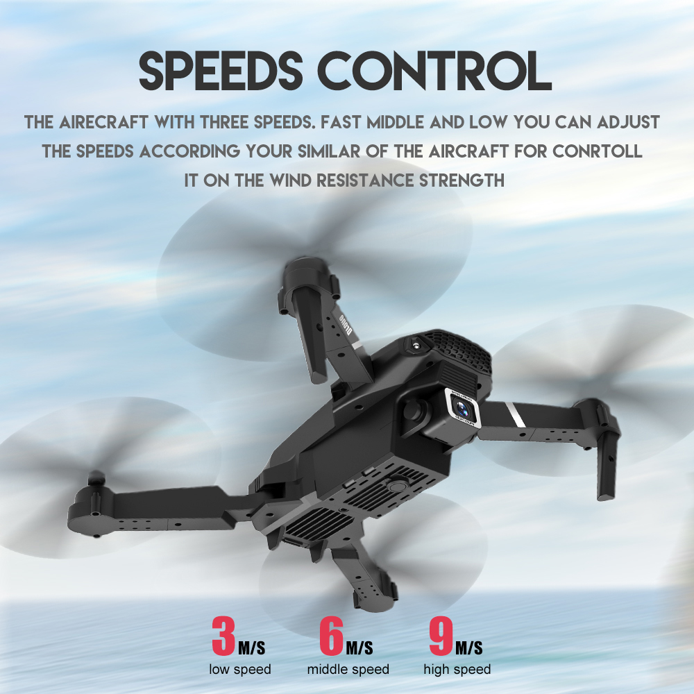 cheapest Professional Helicopter 4 CH 6 Gyro 4K 1080P Foldable RC Quadcopter Drone Ultra HD Camera WIFI FPV With LED Light Remote Toys