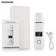 Cleaner Skin-Care-Tool Rejuvenation Facial-Skin-Scrubber Blackhead Face EMS Lcd-Screen-Ion