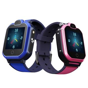 S6 Kids Smart Watch Waterproof 4G GPS WIFI LBS Tracker Phone Watch SOS Video Call for Children Anti Lost Monitor Baby SmartWatch