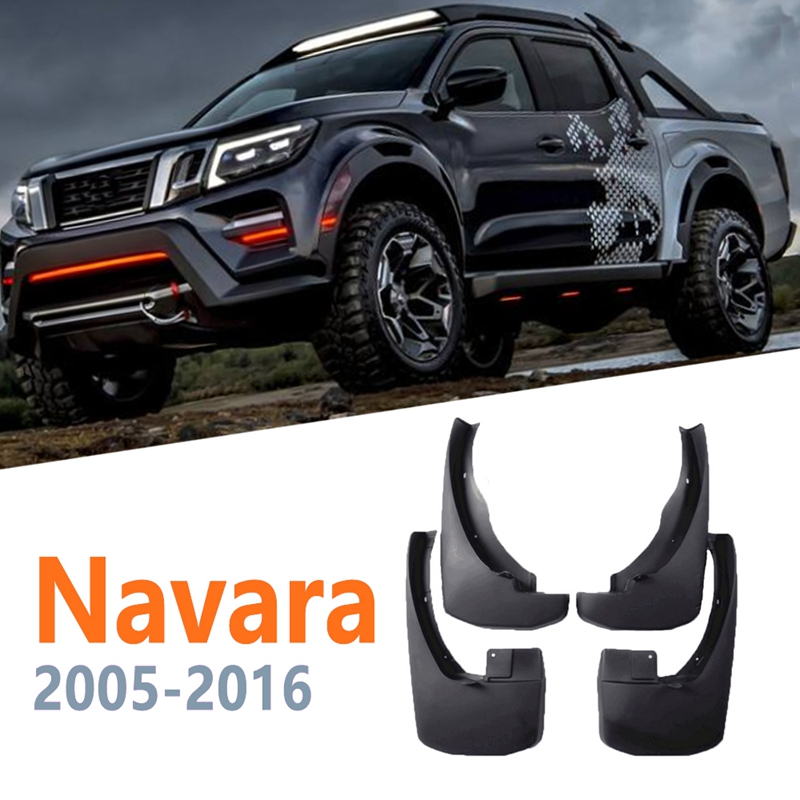 For Nissan Frontier 2005-2016 Rear /& Front Splash Mud Guards Flaps Set Fender