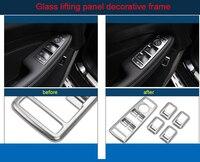 Für Benz E klasse 2008 2015 ABS Glas hebe panel dekorative rahmen chrome molding trim 5 stücke-in Chrom-Styling aus Kraftfahrzeuge und Motorräder bei