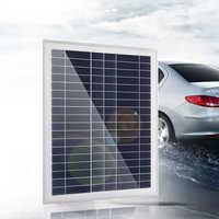 10/25 Вт поликристаллический аккумулятор, силиконовая солнечная панель, стандартный эпоксидный блок питания, мини солнечный элемент, двойной...
