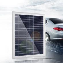 10 25w polikrystaliczny baterii krzemu standardowe panele solarne epoksydowa moduł ładowania słonecznego podwójne USB żeński Port tanie tanio CN (pochodzenie) Solar Panels dropshipping