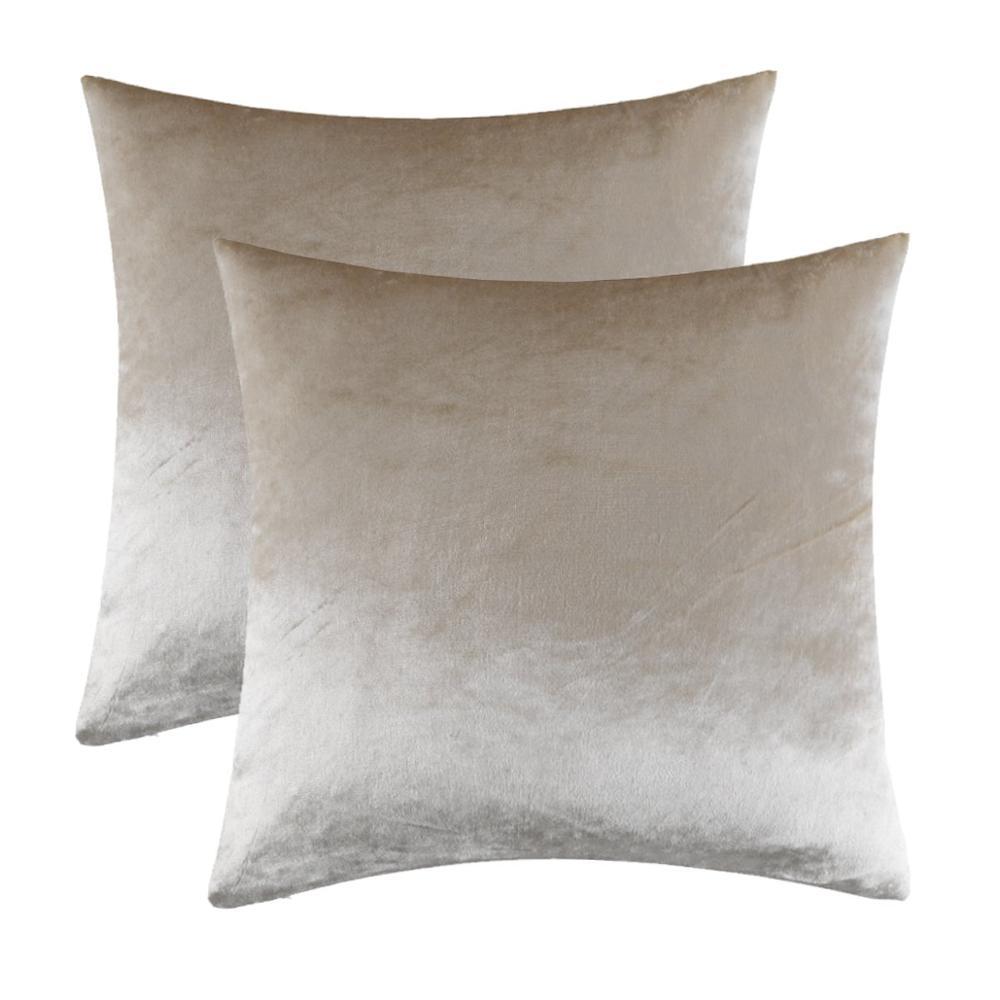 כריות בצבע שמפניה לסלון או חדר השינה 2
