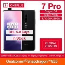 Global Version OnePlus 7 Pro 12/8/6GB RAM 256/128 ROM Smartphone 6.67
