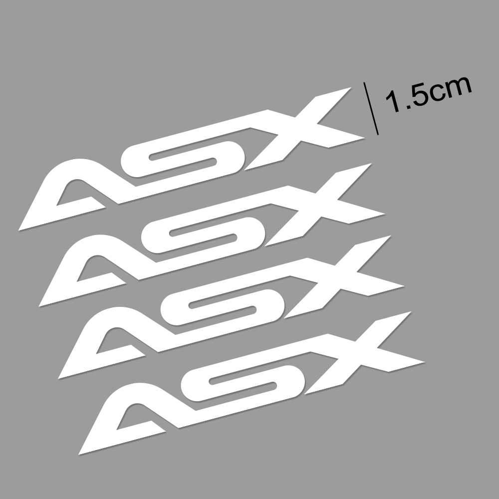 Image 5 - 4PCS Car Vinyl Window Wiper Decor Stickers For Mitsubishi Lancer 10 3 9 EX Outlander 3 ASX L200 Ralliart Competition Accessories-in Car Stickers from Automobiles & Motorcycles