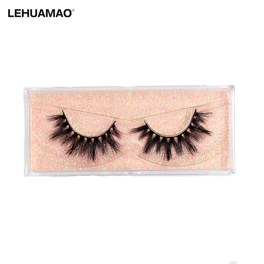 LEHUAMAO Makeup  3D Mink Hair False Eyelashes Natural/Thick Long Eye Lashes Wispy Makeup Beauty Extension Tools