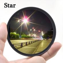 KnightX Star 4 6 8 Line Filter For canon sony nikon d3300 light 1300d 2000d 700d 200d d70 photo dslr 49 52 55 58 62 67 72 77 mm