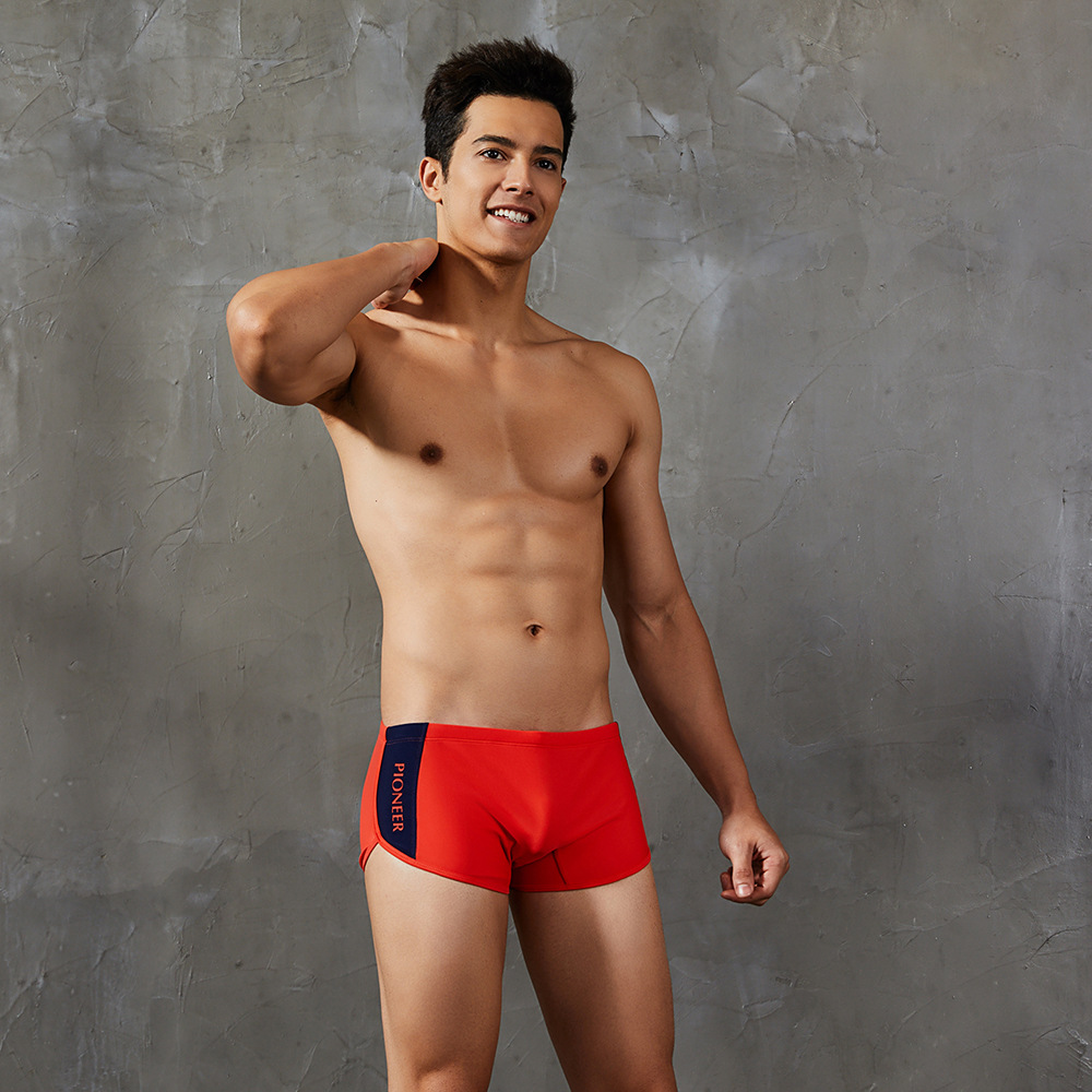 For New Style MEN'S Swimming Trunks-Style Mixed Colors Boxer Swimming Trunks Hot Sales-MEN'S Swimming Trunks